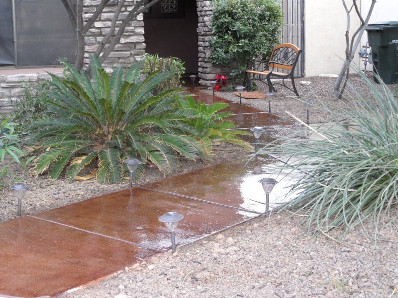 Concrete Acid Stains Scottsdale Az First Class Coatings