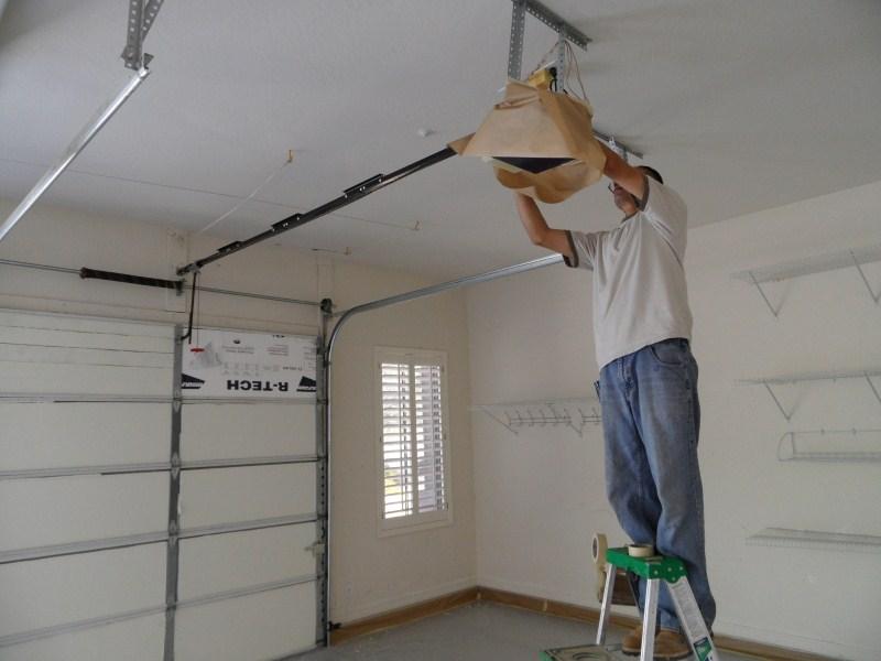 Garage Ceiling Preparation