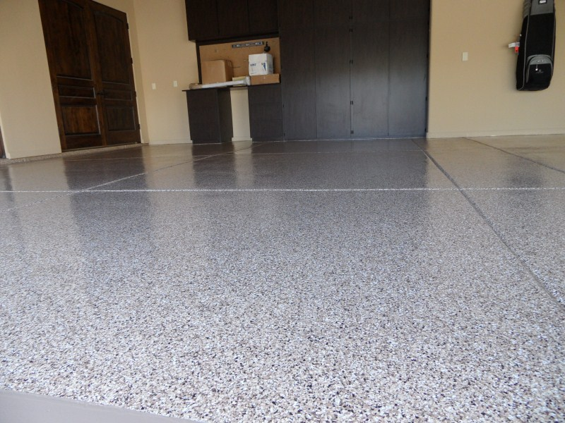 Decorative Chip Epoxy Floors First Class Coatings